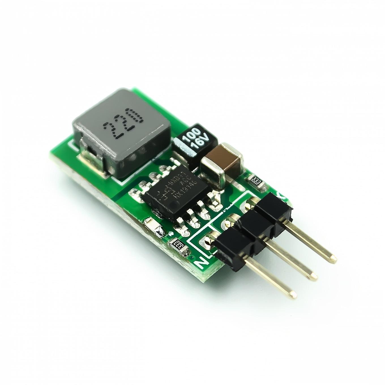 DC-DC módulo de alimentação conversor de recipiente, módulo de potência do retificador sincronoso 5.5v-32v, delimitação 12v 24v para regulador de tensão 5v 1a substituir lm7805
