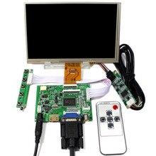 Плата управления драйвером Latumab HDMI/VGA/AV + 8-дюймовый IPS-дисплей высокой четкости с разрешением 1024*768, для Raspberry Pi, с ЖК-дисплеем, с диагональю ...