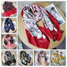 Итальянский модный Бренд liu. jo женские шарфы, летние модные шарфы высокого качества