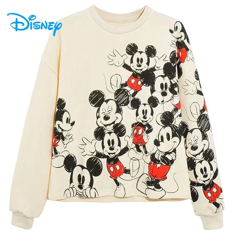 Disney Mickey Mouse Cartoon Hoodie Sweatshirt Jumper Men Women Unisex 3848