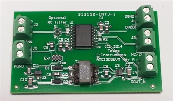For AMC1305M25EVM Isolated Delta-sigma Modulat Module Development Board