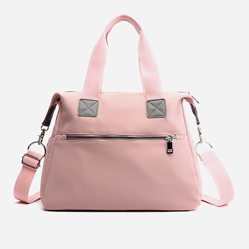Купить с кэшбэком Fashion Baby Mummy Large Travel Bag Nylon Maternity Bag Nappy Bag Diaper Bags Waterproof