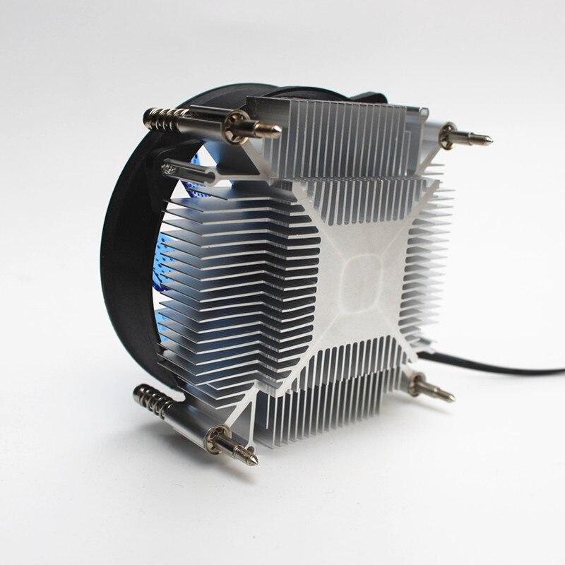 cooler radiador de led para cpu com 04