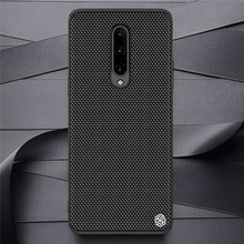 Nylon Fiber Protective Case for OnePlus 8/8 Pro Mobile Phone Ultra slim Back Cover Shockproof Housing Shell Case for OnePlus 8