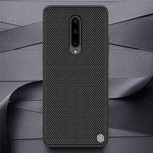 เส้นใยไนลอนสำหรับOnePlus 8/8 Proโทรศัพท์มือถือUltra SlimปกหลังฝาครอบกันกระแทกสำหรับonePlus 8