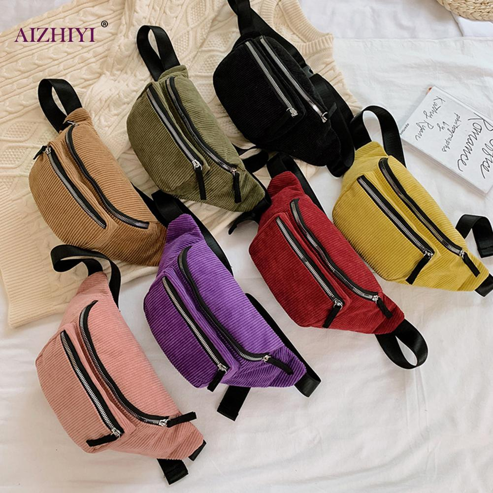 Womens Elegant Leather Waist Pouch Women Tassel Belt Bags Luxurious Pearls Waist Bag Multifunction Mini PU Leather Travel Bumbag Holiday Fanny Pack Cell Phone Pouch Money Holder for Outdoor Sports