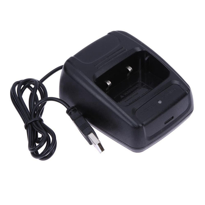 USB Radio Li-ion Battery Charger For Baofeng BF- 888S Retevis H777 Walkie-Talkie USB Charger Charge For Radio Walkie Talkie