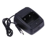עבור baofeng רדיו Li-ion USB מטען סוללות עבור Baofeng BF- 888S Retevis H777 USB ווקי טוקי Charge מטען Talkie Walkie רדיו (1)