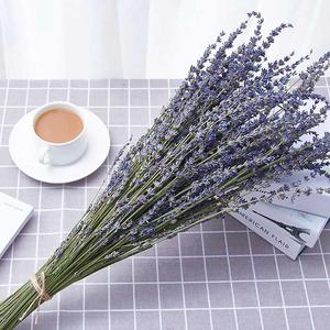 1 Bunches Provence Natural Lavender Flower Dried Flowers Romantic Immortal Dry Flower bouquet Wedding Party Home Decoration