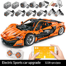 Building Blocks For MOC-16915 Sports Car Series McLaren P1 Hypercar Technic Diy Toy Boys Children Bricks Toys Christmas Gifts(China)