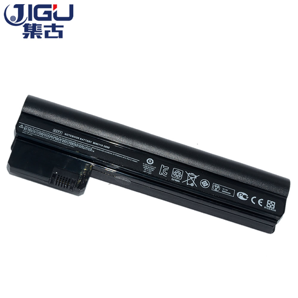 JIGU Laptop Battery For HP/COMPAQ Mini 110-3000 CQ10-400 CQ10-500 607763-001 607762-001 HSTNN-DB1U HSTNN-E04C HSTNN-06TY