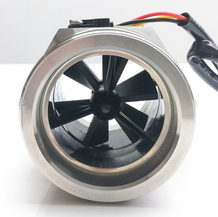 S304 2-150L MIN DN40  Water Hall Turbine Flow Sensor Industry Meter  1 5inch