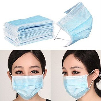 3 Ply Disposable Face Mask Non-woven Disposable Elastic Mouth Soft Breathable Flu Hygiene Face Mask as KN95 KF94 5