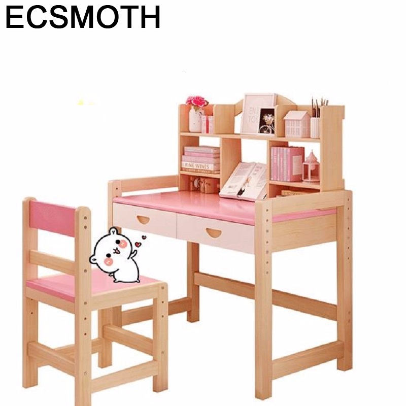 Toddler Baby Pupitre Scrivania Bambini Pour Desk Silla Y Infantiles Adjustable Mesa Infantil Kinder Enfant Study Table For Kids