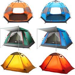 4-6 pessoa 290*200*130 centímetros À Prova D' Água À Prova de Vento Grande Acampamento jogar Tendas Tendas Automáticas Escalada Caminhadas hot 2018 Nova ANTI-UV