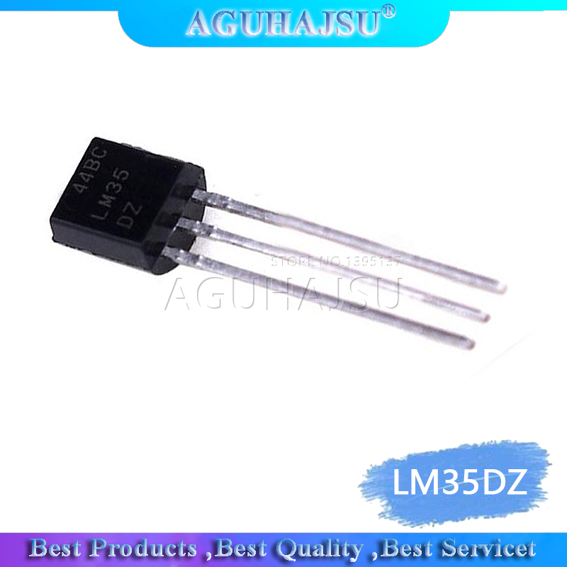 10Pcs/Lot LM35DZ LM35D TO-92 LM35 TO92