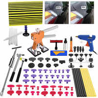AUTO BODY PAINTLESS DENT REMOVAL TOOLS KIT REFLECT BOARD DENT LIFTER BRIDGE PULLER SET FOR CAR HAIL DAMAGE AND DOOR DINGS REPAIR