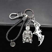 The Avengers Union Batman Marvel keychains For Bag Key Car Key Chains Key Ring  Comic Figure Pendant Accessories Key Gift personalized custom unique car key chains lanyards key ring key finder feather keychains leather tassel