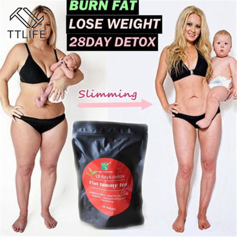 <font><b>28</b></font> <font><b>Days</b></font> <font><b>Detox</b></font> Weight Loss Tea Health Diet Slimming Aid Burn Fat Thin Belly Prett Scented Tea Slimming Tea Chinese Herbal image