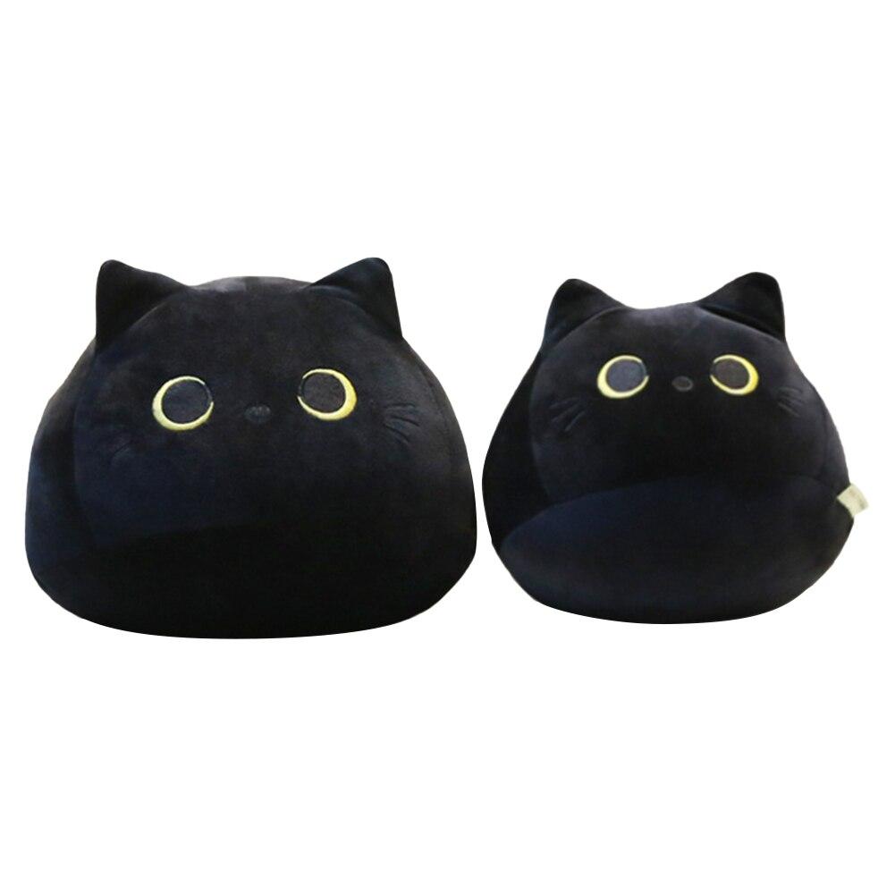 Cute Black Cat Plushie 2