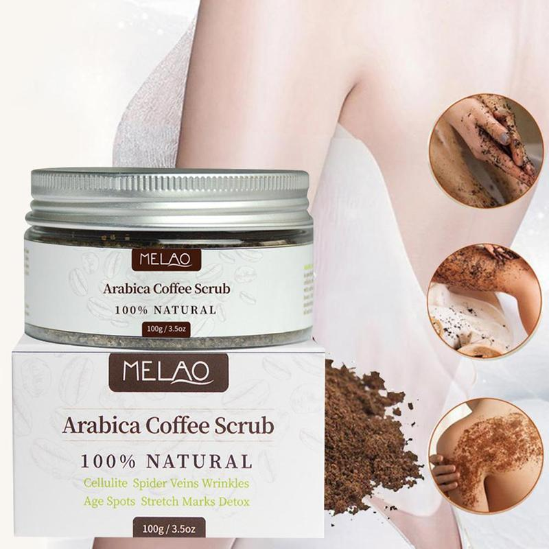 Coffee Scrub Body Scrub Cream Facial Dead Sea Salt For Exfoliating Whitening Moisturizing Anti Cellulite Treatment Acne