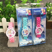 Cute cartoon totoro children's watch imitation ceramic strap cartoon children's