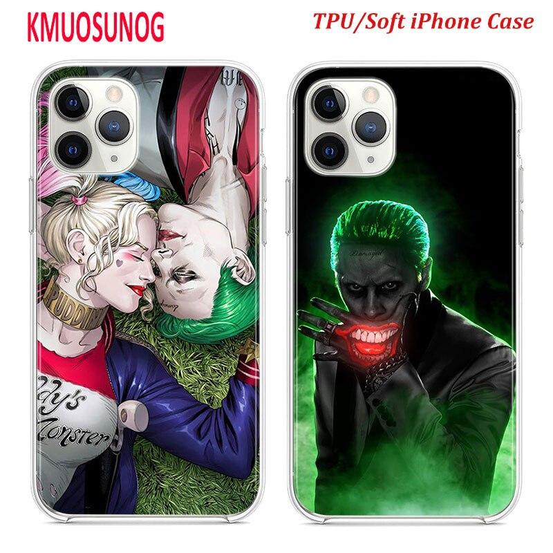 Coque Iphone 11 Pro Max Joker Smile Comics Cartoon bazis.az