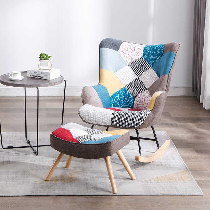 Living Room Rocking Chair Balcony Apartment Comfortable Chair Modern Minimalist Lounge Chair Bedroom Chair Single Sofa Chair Chaise Lounge Aliexpress