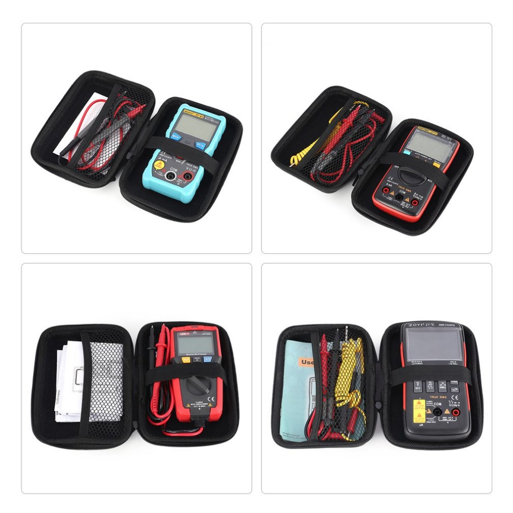 Portable Multimeter Handheld Package Tool Carry Bag Electrical Pockets Packs Organizer Hardware Multitester Meter Tester Bags Ho