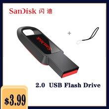 Sandisk-Mini pendrive USB Flash Drive, pendrive, memoria para teléfono, 32 64 128, 16 GB