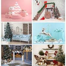 Shengyongbao Рождественские фоны для фотосъемки Вечерние Декорации