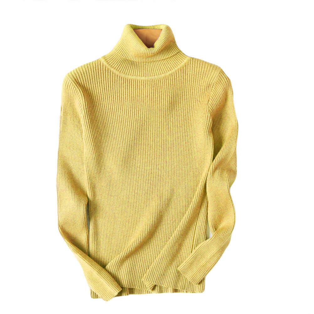 여성 스웨터 겨울 가을 거북이 목 스웨터 탄성 슬림 니트 풀오버 bottoming 스웨터 여성 풀오버 스웨터