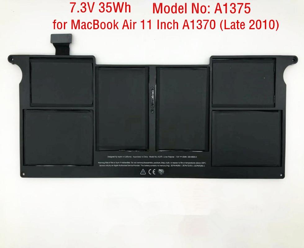 35Wh New A1375 Laptop Battery for font b Apple b font font b MacBook b font