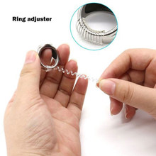 Pop 2 pçs tamanho do anel ajustador snuggies inserção guarda tightener redutor redimensionamento fitter
