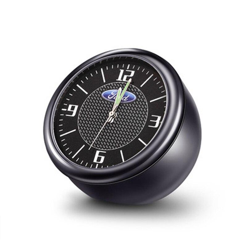 Horloge Quartz voiture prise horloge voiture intérieur parfum electronique pour Ford Mondeo Forex aile tigre ailes horloge décoration