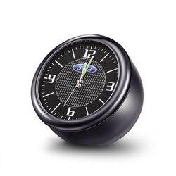 Samochód zegar kwarcowy gniazdo zegar samochodowy wnętrze zapach elektroniki dla Ford Mondeo Forex skrzydłowy tygrys skrzydła zegar dekoracji