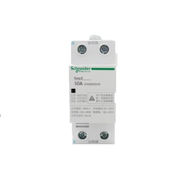 Original Export EA9SGQ Instantaneous Voltage Coil Resettable over-Voltage Protector Ac 2P 50A 230V 50Hz Automatic Reset 25-35s