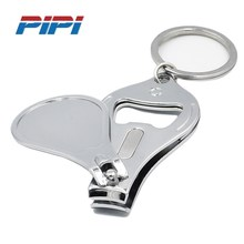 Good Nail Clipper Cutter With Files Beer Bottle Opener and Key Ring Toenail Nipper Trimmer Manicure Set For Man Women
