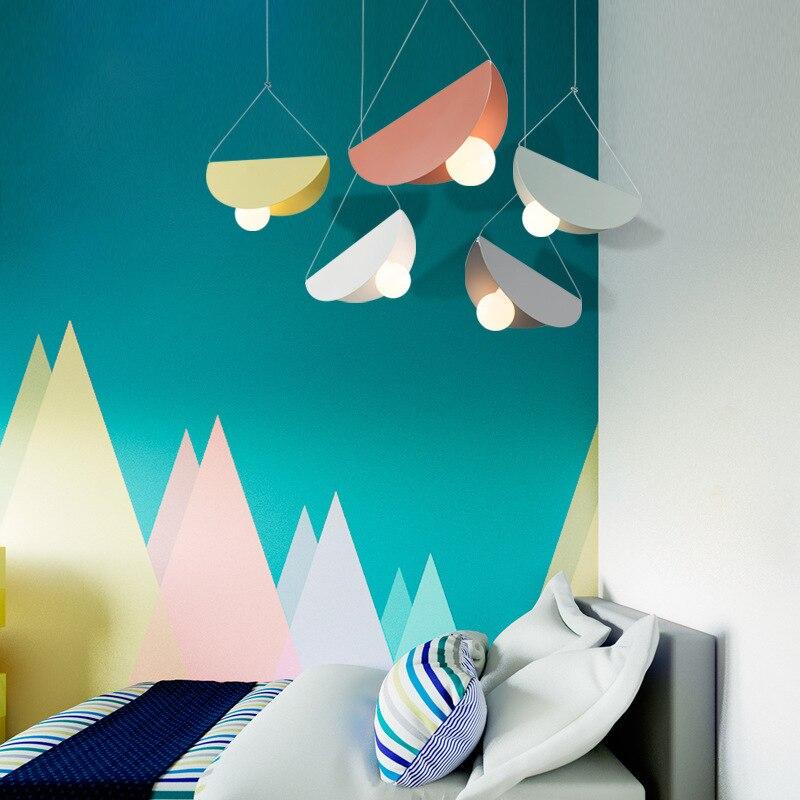 Nordic Minimalism Droplight Angle Adjustable E27 Small Pendant Lights, Home Decor Lighting Lamp And Bar Showcase Spot Light