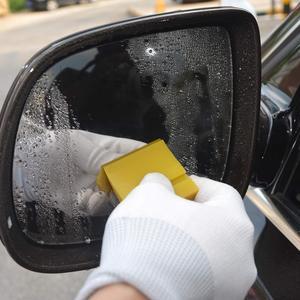 Image 5 - FOSHIO 4PCS 5CmซิลิโคนSqueegeeรถไวนิลห่อใบมีดยางWindow Tintเครื่องมือทำความสะอาดน้ำหิมะน้ำแข็งScraperสติกเกอร์Remover