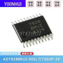 Original AD7928BRUZ-REEL7 TSSOP-20 1msps conversor analógico-digital de 12 bits (adcs)