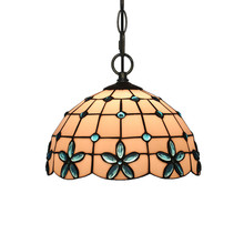 Tiffany European and American Chandeliers Retro Creative Stained Glass Bar Restaurant Corridor Bar Personalized Chandeliers free shipping 15cm european sunflower pendant tiffany glass bar balcony corridor for the study of lighting fixtures