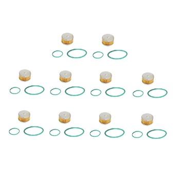 10 sztuk zestaw CNG LPG filtr TOMASETTO AT07 AT09 + O-pierścień uszczelniający tanie i dobre opinie CN (pochodzenie)