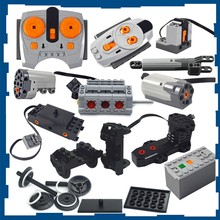Technical parts Motor multi power functions tool servo train motor 8293 8883 Compatible All Brands PF model sets building blocks