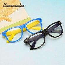 Iboode-gafas con marco óptico para niños y niñas, anteojos UV antirreflectantes con bloqueo de ordenador, 2020