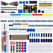Electronics-Component Resistors Buzzer Register-Card Jumper-Wires Keywish Color For Arduino