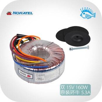 Imported new Noratel 160VA 115 / 230V 2x15V 160w toroidal transformer