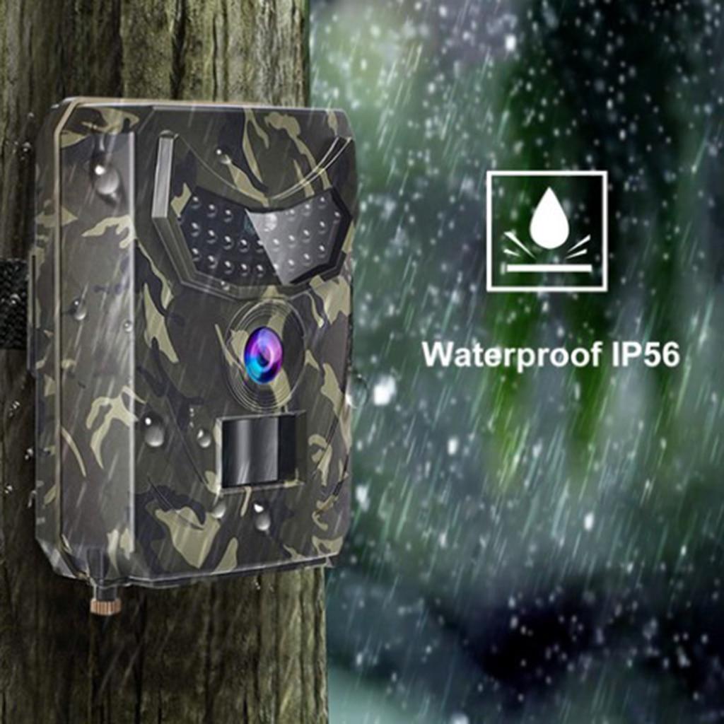 12MP Hunting Camera 1080P Trail Scouting IR Night Vision Wildlife Cam Record
