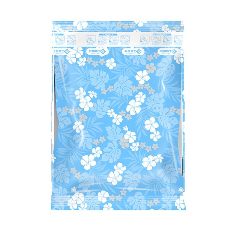 Домашний удобный вакуумный компрессионный мешок зефир и воздуходувки печать одежда уплотнение Сжатый для экономии места в путешествии сумки посылка