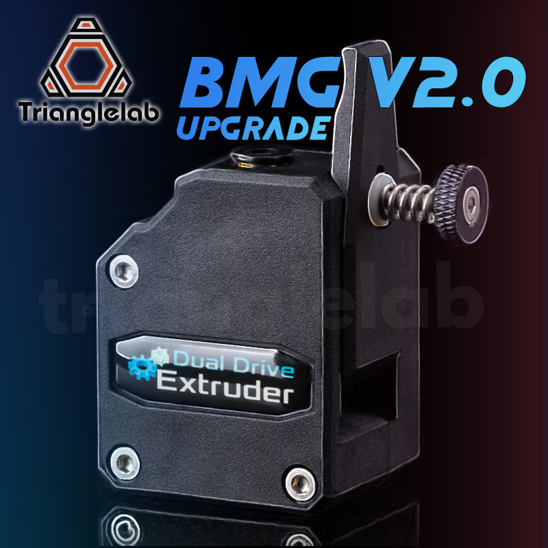 trianglelab NEW BMG Extruder V2 0 Bowden Extruder Cloned Btech Dual Drive Extruder For 3d printer Ender3 CR10  TEVO MK8